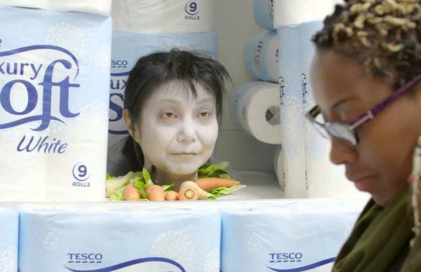 スーパーマーケット全体で本気のハロウィン
