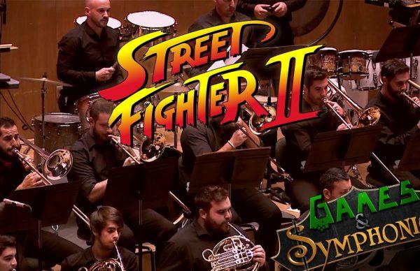 オーケストラでストリートファイター2メドレー