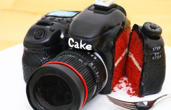 食べられるカメラの作り方