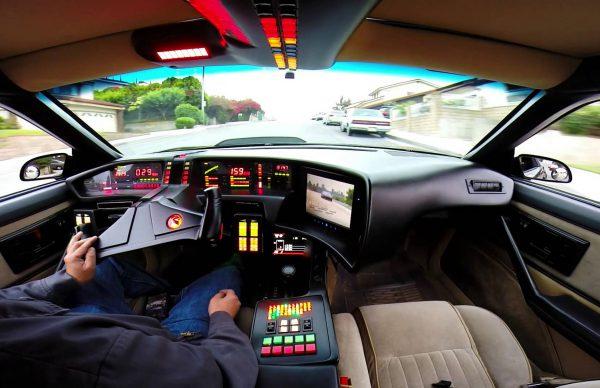 GoProで見るナイト2000のドライブ風景