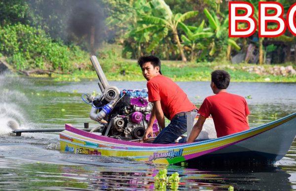 小型ボートにディーゼルターボエンジン!