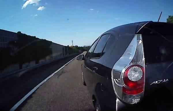 高速道路で死ぬかと思った