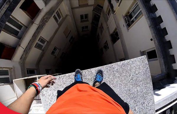 【閲覧注意】落ちたら死ぬ超高所でパルクールする凄技まとめ
