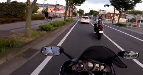 バイク追突+飲酒運転+ひき逃げ 逃走親父