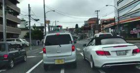 軽自動車がベンツに絡まれ煽り運転をされるが・・・